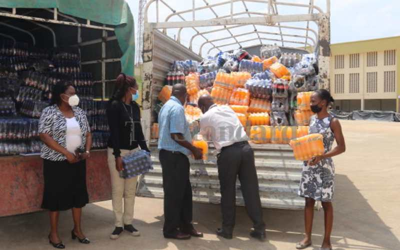 KRA impounds illegally imported energy drinks worth Sh1.5m