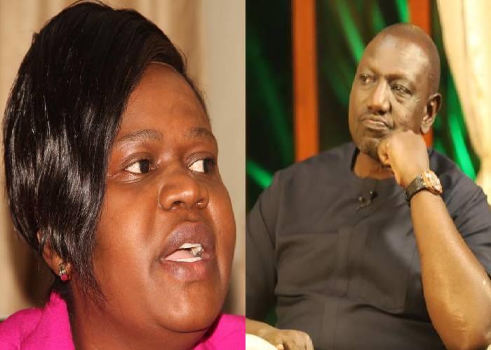 Leave Government so that you can freely bash Uhuru, Wanga tells Ruto