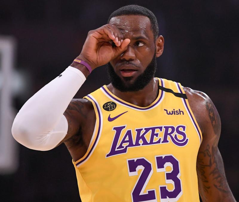 LeBron James joins athletes voicing outrage over death of unarmed black man