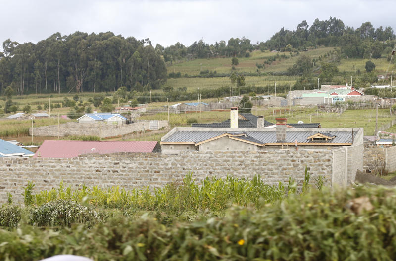 Treasure Estate in Molo ,Nakuru County on October 21,2019. [Kipsang Joseph/Standard]