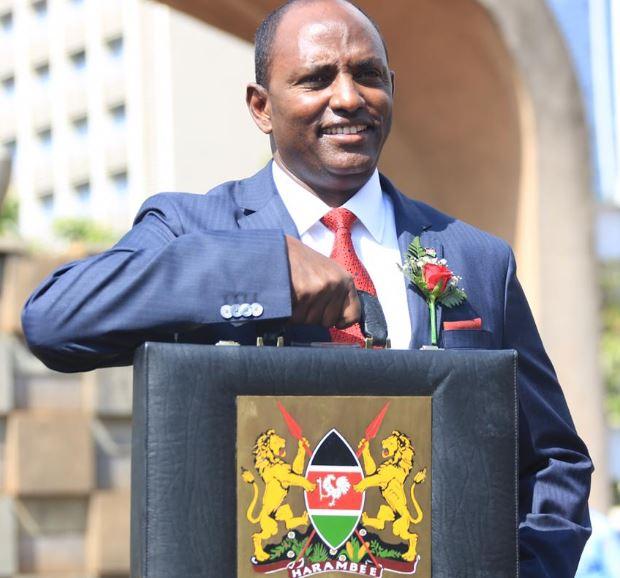Treasury CS Ukur Yatani unveils Budget 2020/21