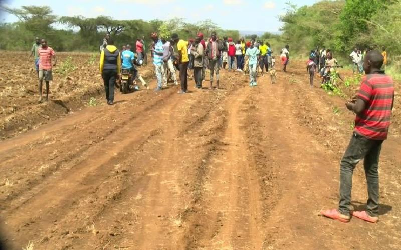 Locals protest over 'grabbing' of public land