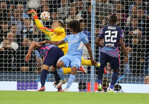 Man City defender Ake says father died minutes after Champions League goal