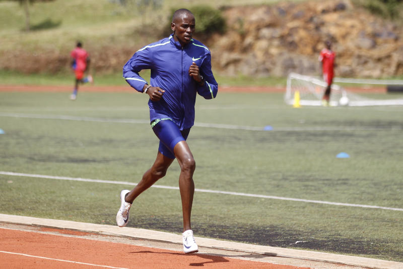 Manangoi asks colleagues not to give up, keep training