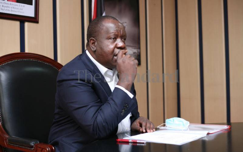 Matiang'i tosha? Looks like we're being taken for a ride