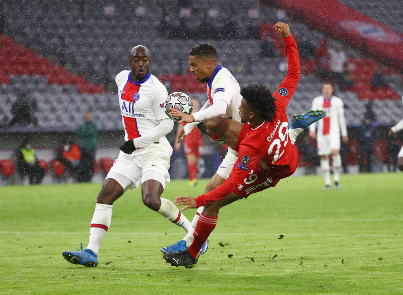 Mbappe brace helps PSG to thrilling win at holders Bayern