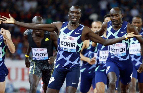 Men's 800m: Olympic champion Korir reclaims the Diamond League trophy in Zurich