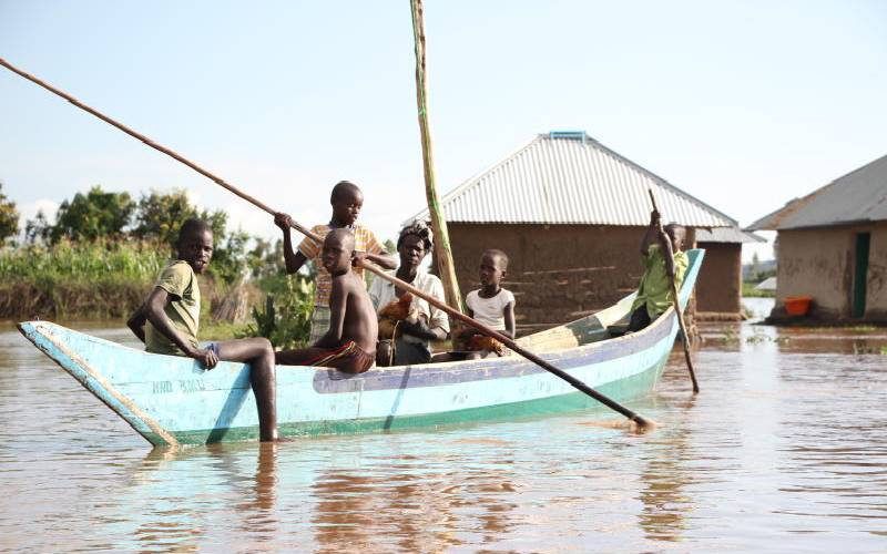 Gold miner killed as floods displace 300 residents