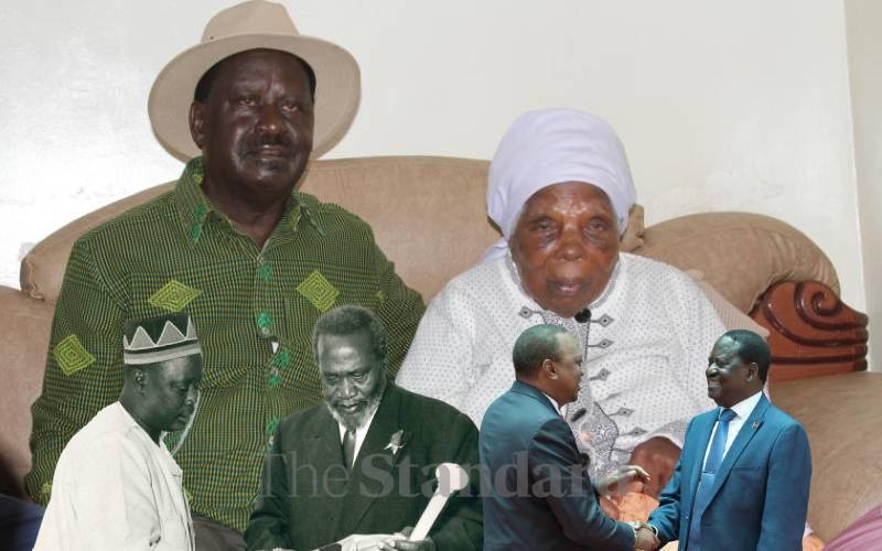 Mukami Kimathi homage: Raila retraces father's steps 50 years later
