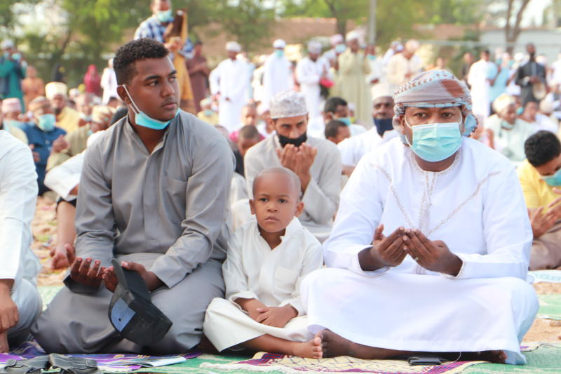 Muslims countrywide celebrate end of Ramadhan