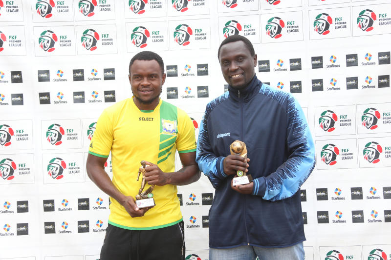 Muyoti named FKF-PL July coach of the month