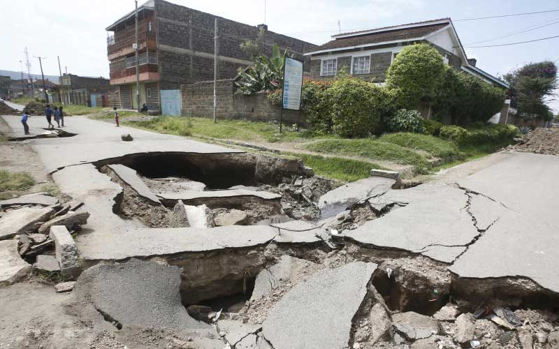 Nakuru County stops building plans due to fault lines: The Standard