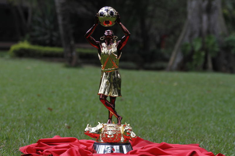 New 24 carat gold-plated FKF trophy leaves football fans in shock