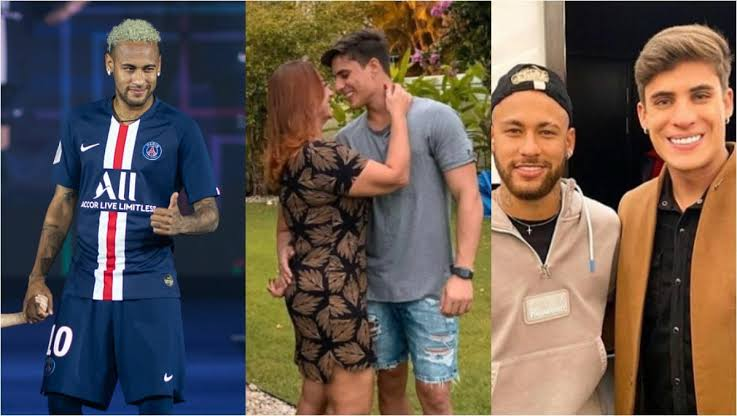 Neymar's mother dumps 23 year-old lover after finding out he dated men