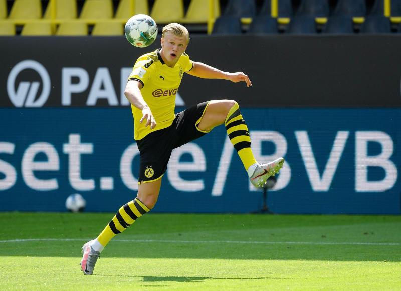 No backup for striker Haaland next season - Dortmund Sporting Director