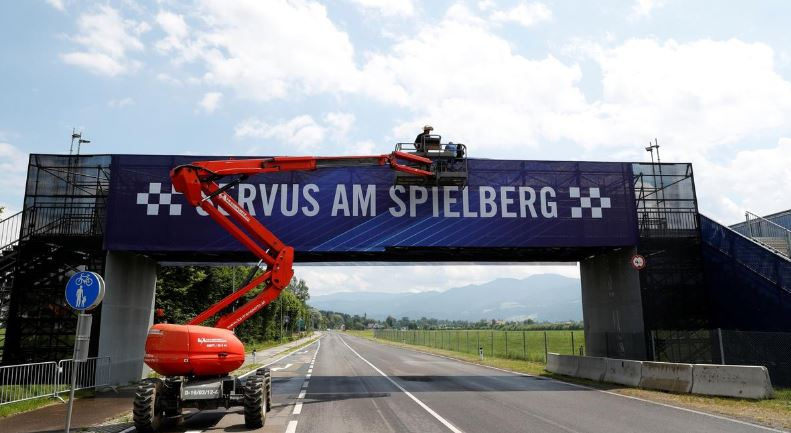 No fans, just cows in campsites ahead of closed Austrian GP
