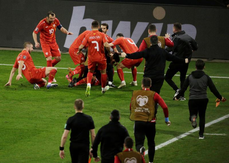 North Macedonia stun German Machines with late winner