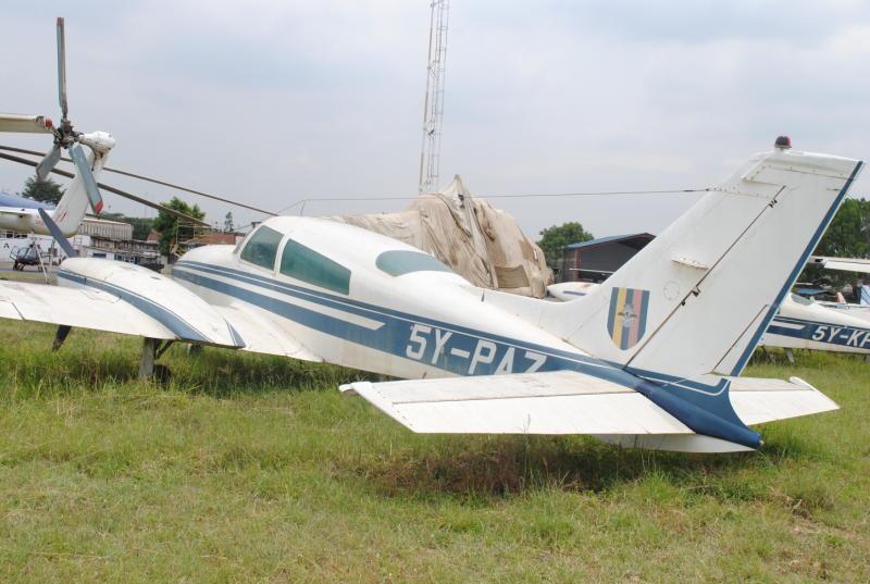 Some of the grounded Kenya Police aircraft at Wilson Airport, Nairobi.