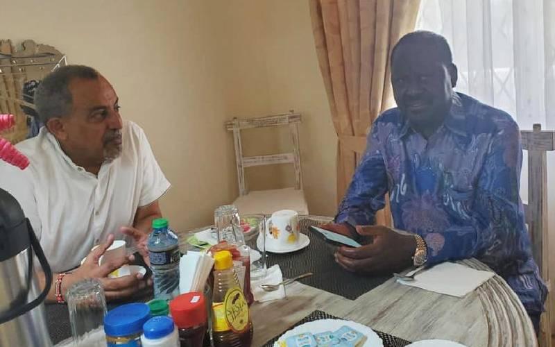 Raila Odinga tour rekindles Joho's succession race
