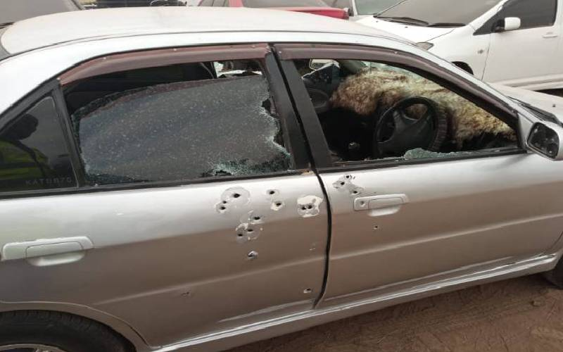 Officer arrested over link to 2,040 bullets found in Embakasi car
