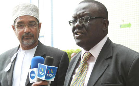 CORD referendum team meets IEBC boss Issack Hassan
