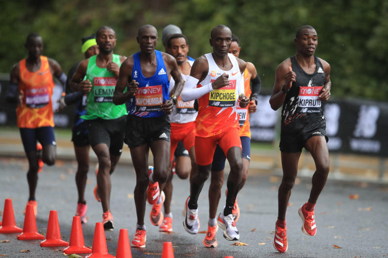 Olympic Games: No retreat, no surrender for marathoners