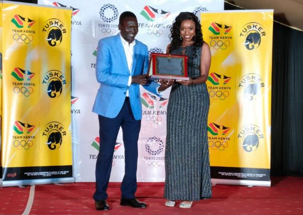 Olympics Kenya honours Kenya Charity during athletes Gala