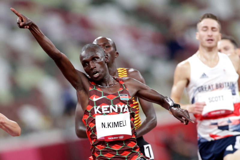 Olympics: Kimeli to stage lone battle in 5,000m final