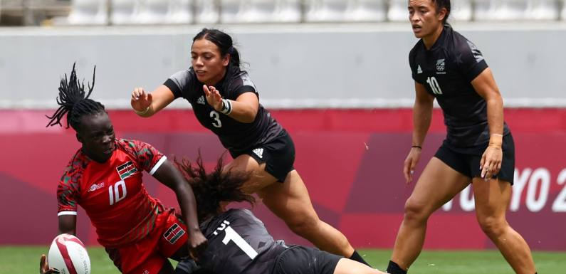 Olympics: New Zealand beat Kenya in women's rugby sevens