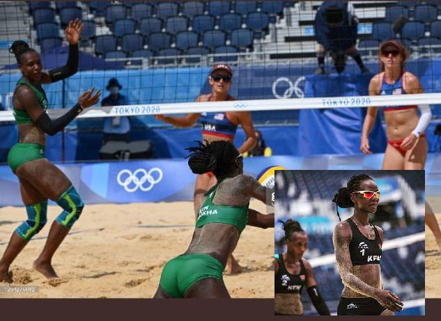 Olympics: US beat Kenya in women's beach volleyball
