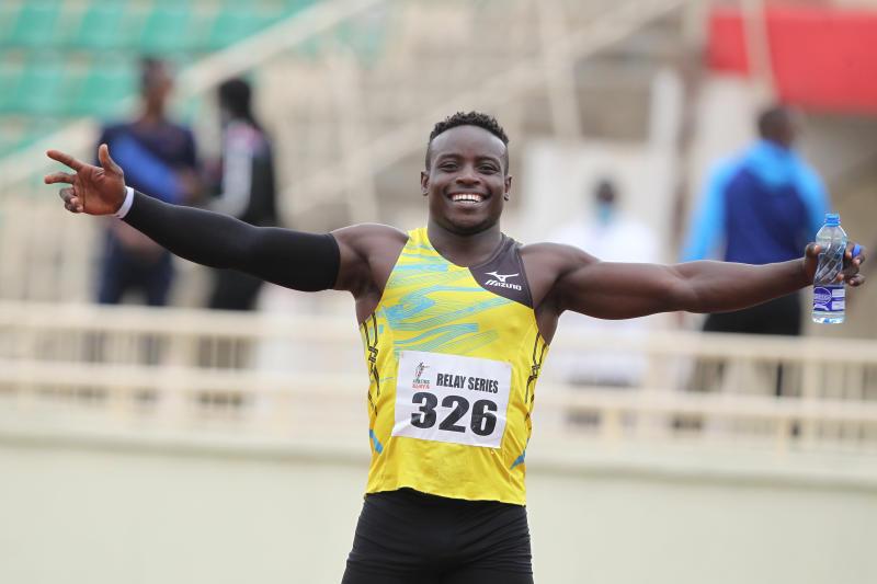 Omanyala hopes his Tokyo 2020 performance will inspire Kenyan sprinters