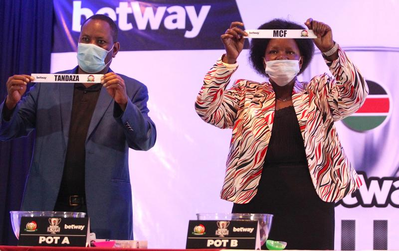 Only 11 FKF top clubs drawn in Betway Cup