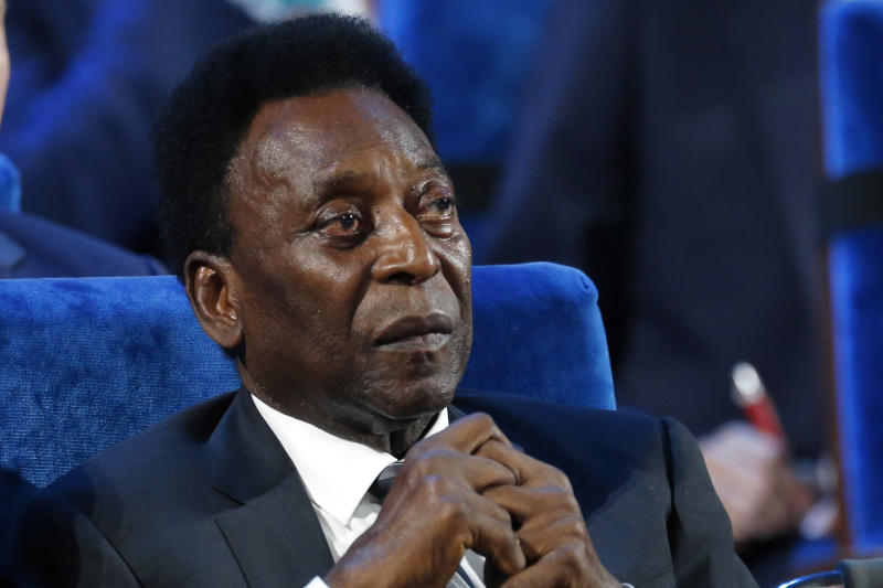 Pele ready for '90 minutes, plus extra time' after leaving ICU