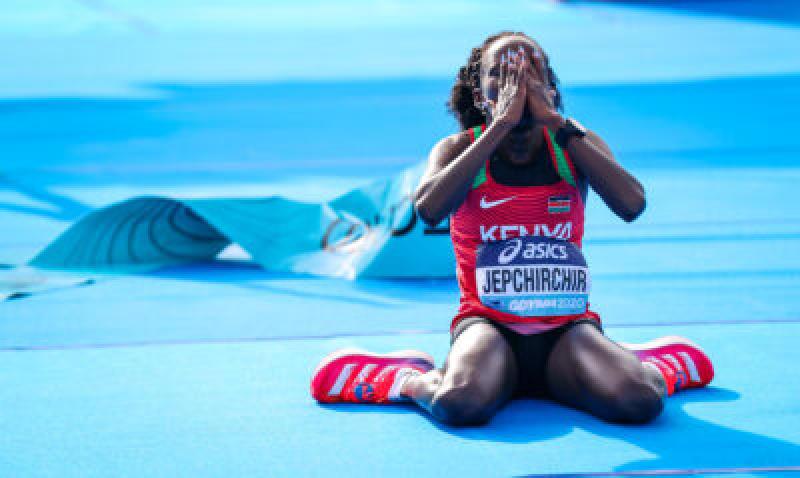 Peres Jepchirchir's world half-marathon record now ratified