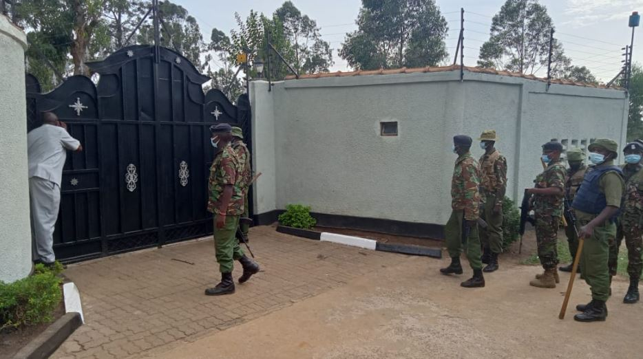 Matungu by-election: Police raid ex-Sports CS Rashid Echesa's home