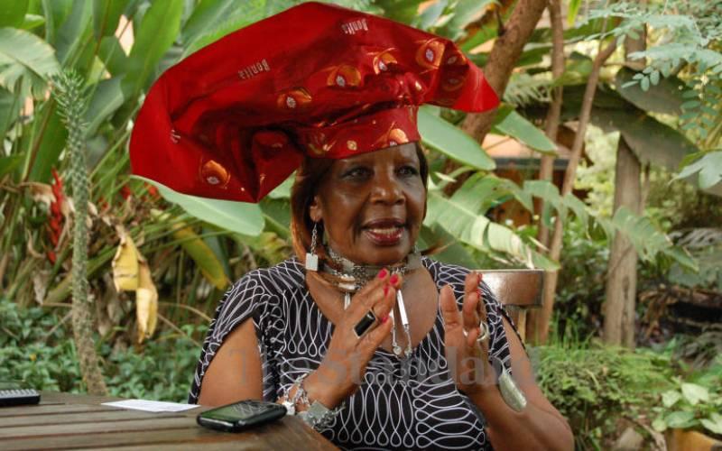 President Uhuru Kenyatta mourns politician and fashion icon Orie Rogo Manduli