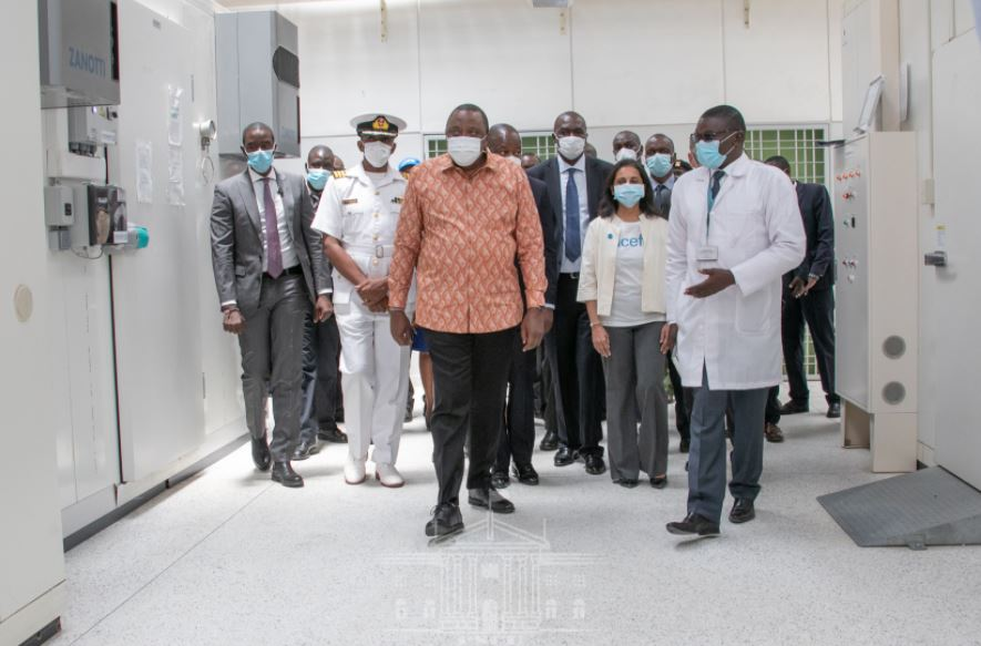 President Uhuru flags off national distribution of Covid-19 vaccine