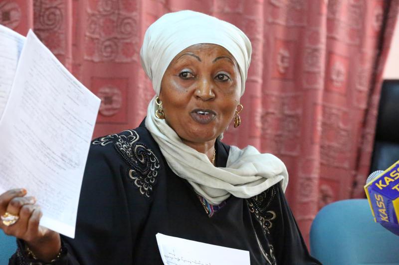 President Uhuru, governors mourn Zainab Chidzuga
