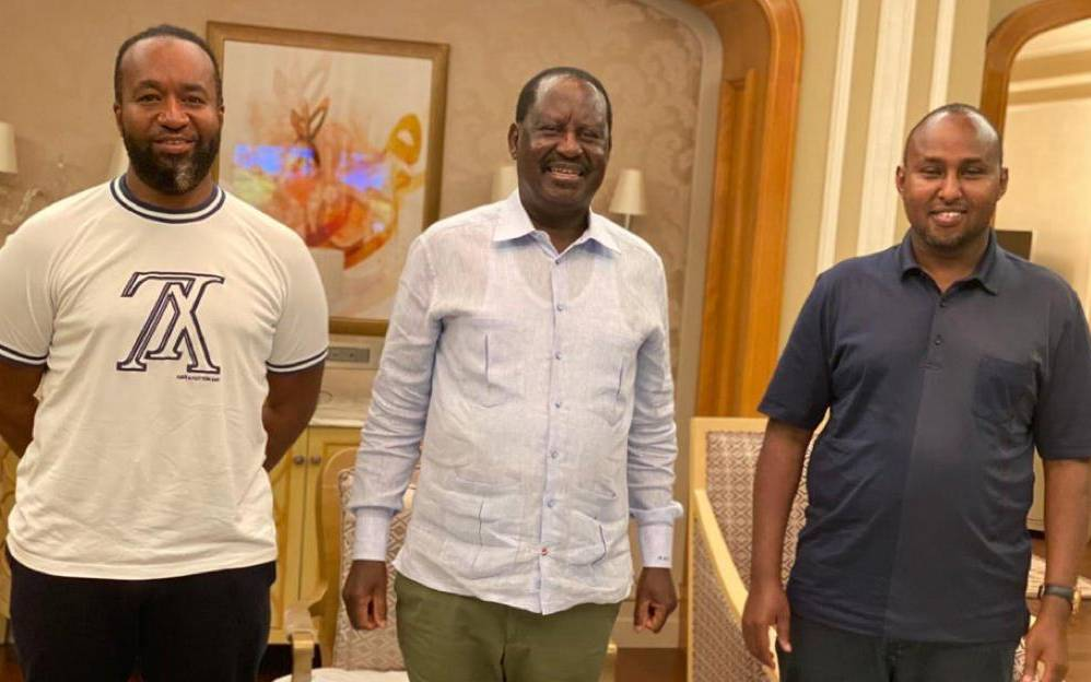 Raila is in good health says Junet
