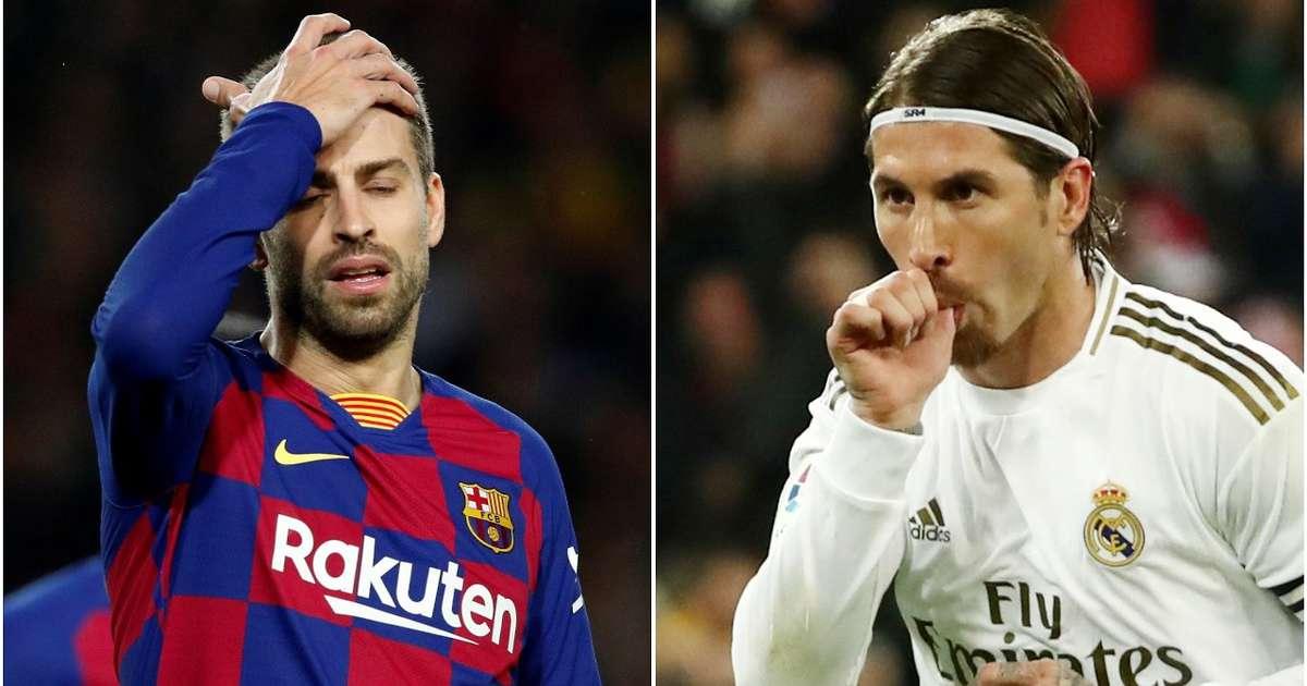 Ramos attacks Gerard Pique, Barcelona over VAR comments