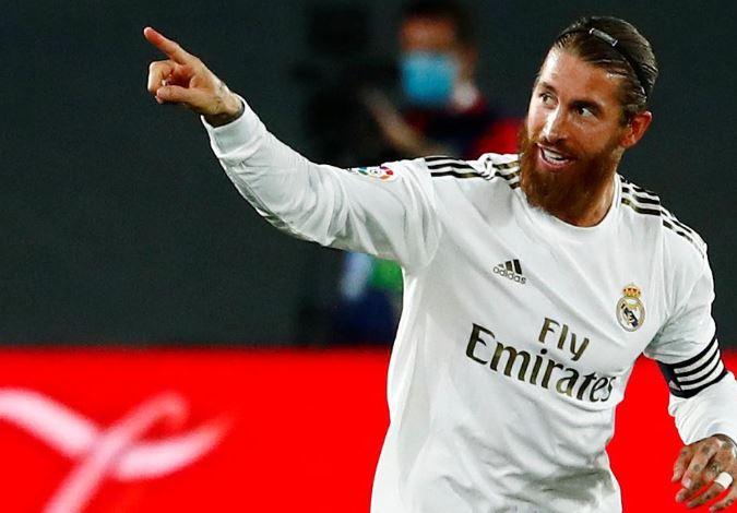 Ramos makes history, scores superb free-kick againnst Mallorca