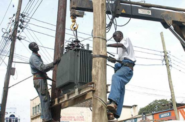 Rogue Kenya Power employees carrying out illegal connections at a fee