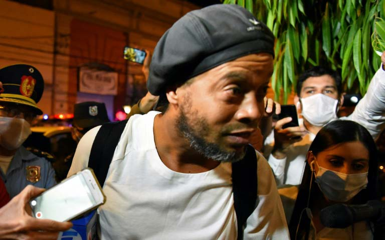 Ronaldinho closing in on 70 days detention in Paraguay