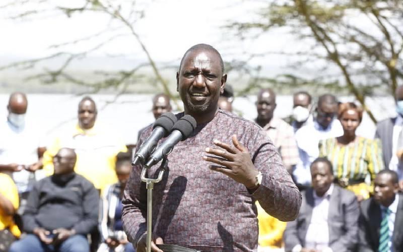 DP Ruto accuses Matiang'i of dishonesty