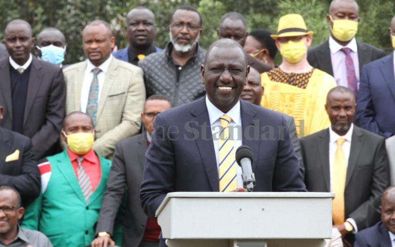 Ruto's abortive Kampala mission and farmer wheeling barrows