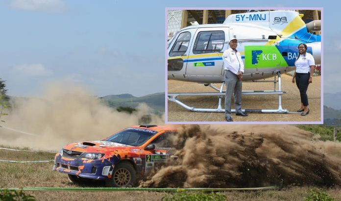 Safari Rally: Fans to enjoy thrilling showpiece from the sky courtesy of KCB