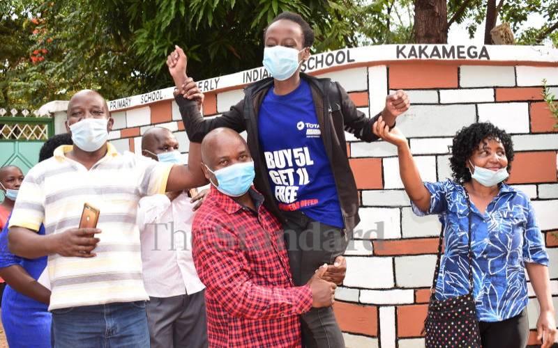 School that lost 15 pupils in stampede among top scorers
