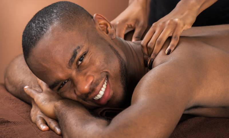 Sensual massage: What takes men to the barber?