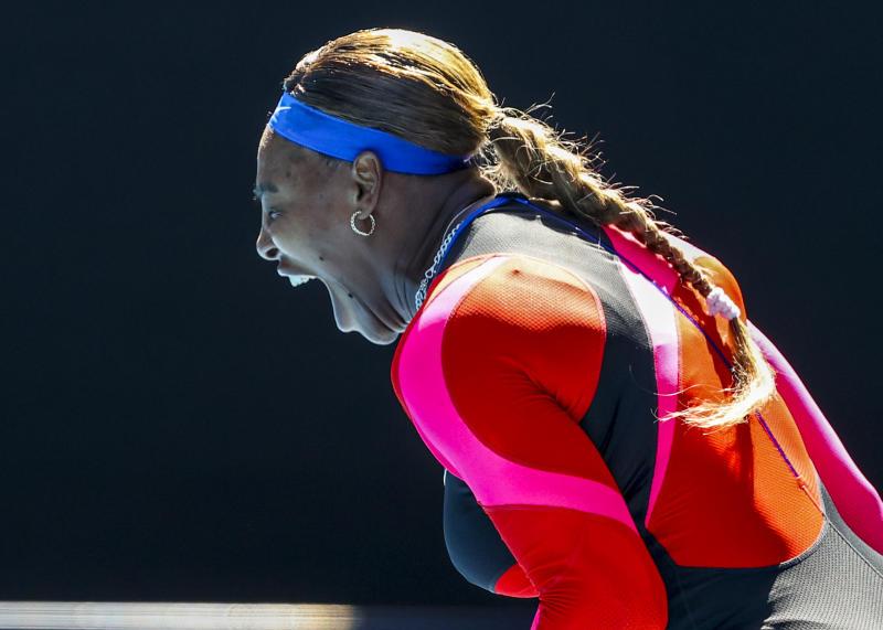 Serena Williams breaks down in tears, cuts short post-match interview