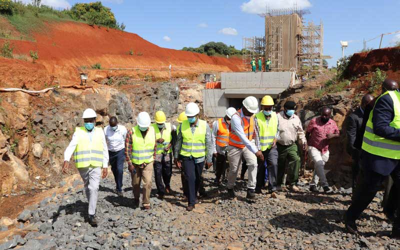 Sh20b Thiba dam will be ready next year, says PS : The Standard